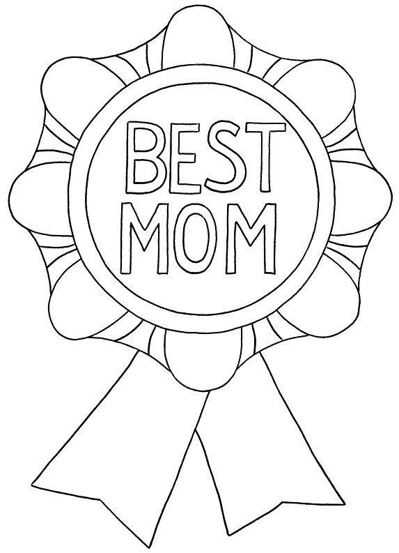 Mother 39 s day for Mothers day coloring pages