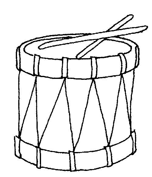Other Stuff To Color Drum Coloring Page