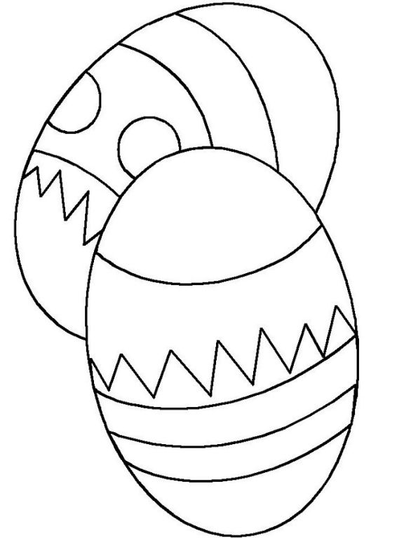 Easter egg mosaic for Easter mosaic coloring pages